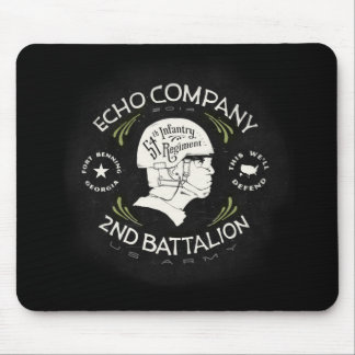 Echo Company 2nd Battalion 54th Infantry Regiment Mouse Pad