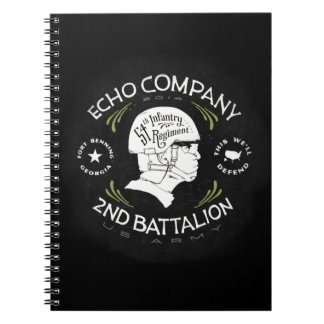 Echo Company 2nd Battalion 54th Infantry Regiment Note Books