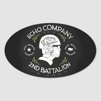 Echo Company 2nd Battalion 54th Infantry Regiment Stickers