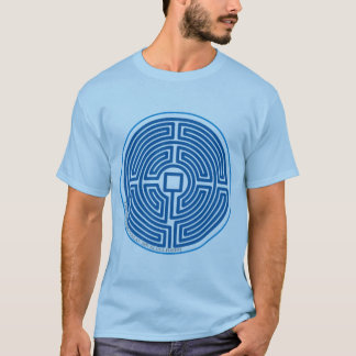 echo labyrinth chinese blue T-Shirt