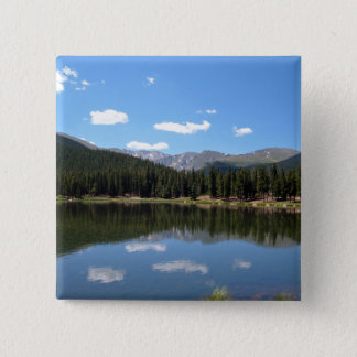 Echo Lake Mt Evans Colorado 15 Cm Square Badge