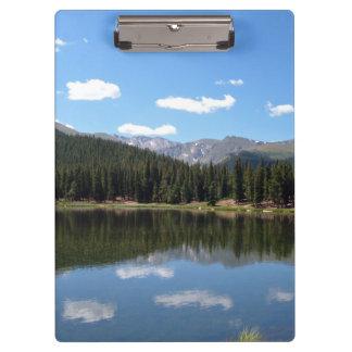 Echo Lake Mt Evans Colorado Clipboard