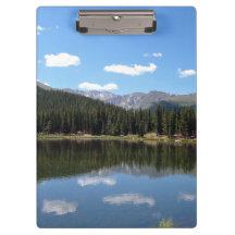 Echo Lake Mt Evans Colorado Clipboards