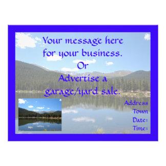 Echo Lake Mt Evans Colorado Custom Flyer