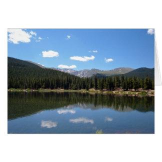 Echo Lake Mt Evans Colorado Greeting Card