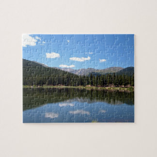 Echo Lake Mt Evans Colorado Jigsaw Puzzle