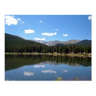 Echo Lake, Mt. Evans, Colorado Post Cards