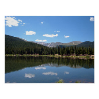 Echo Lake Mt Evans Colorado Poster