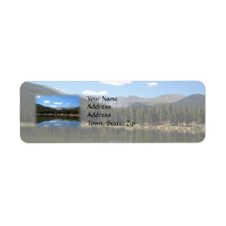 Echo Lake Mt Evans Colorado Return Address Label
