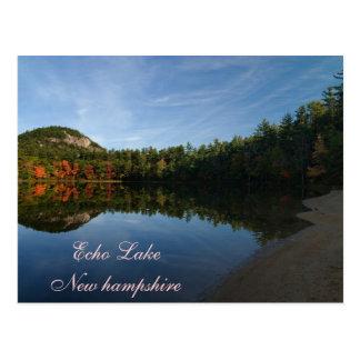Echo Lake New Hampshire   Postcard