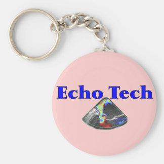 Echo Technician Gifts (Cardiac Echo Tech) Keychains
