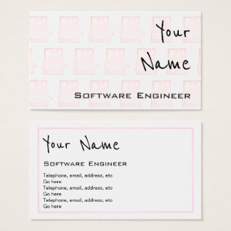 """Echoes"" Software Engineer Business Cards"
