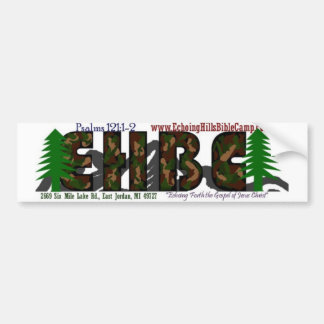 Echoing Hills Bible Camp Bumper Sticker