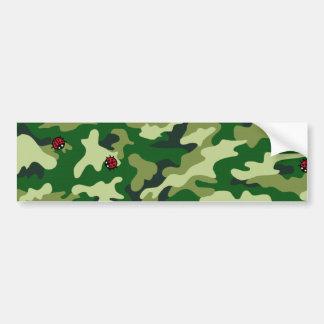 Ecig camouflage bumper sticker