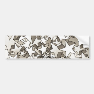 ecig Magic Stars 3D Bumper Sticker