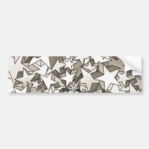 ecig Magic Stars 3D Bumper Stickers