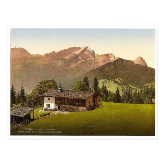 Eckbauer Alp, Partenkirchen, Upper Bavaria, German Postcard