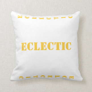 ECLECTIC THROW PILLOW