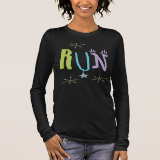 Eclectic RUN Running Runner Long Sleeve T-Shirt