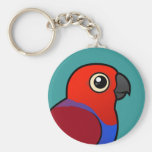 Eclectus Parrot female Keychain