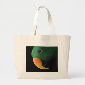 Eclectus Parrot Large Tote Bag