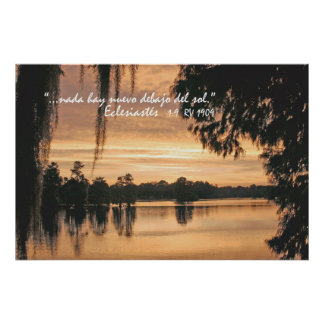 Eclesiastés 1:9 Cartel Print