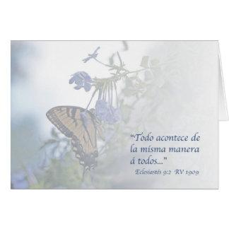 Eclesiastés 9 2 Carta Cards