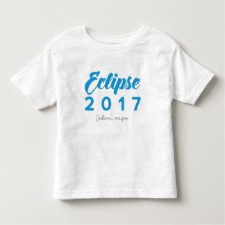 Eclipse 2017 Salem, Oregon Toddler T-Shirt