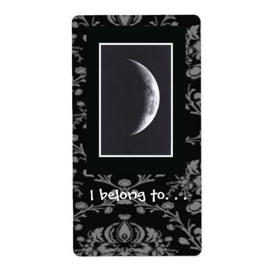 Eclipse Bookplate Label