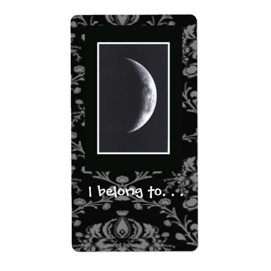 Eclipse Bookplate Label Shipping Label