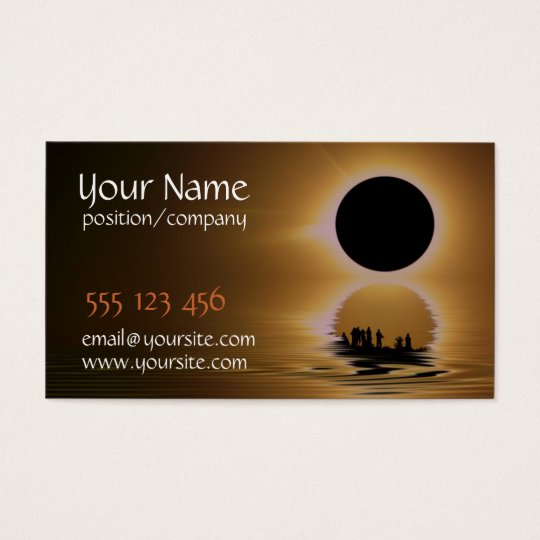 Eclipse Chaser Business Card
