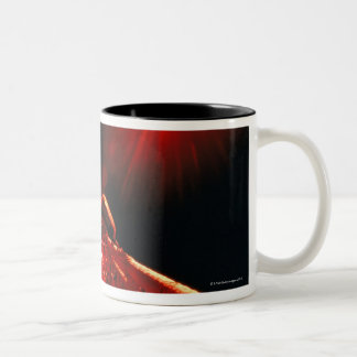 Eclipse from Space Two-Tone Coffee Mug