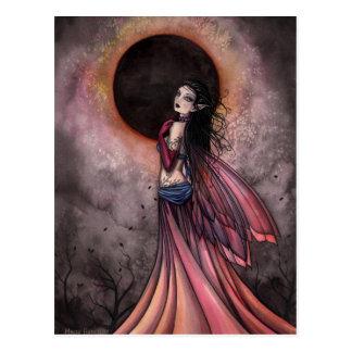 Eclipse Gothic Fairy Postcard