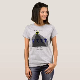 """Eclipse """"In the Shadow of the Moon"""" T-Shirt"""