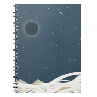 """Eclipse of Sun Art with """"Snakes"""" Notebooks"""