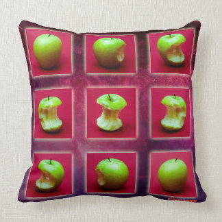 Eclipse Of The Green Star Cushion
