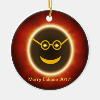 Ecliptomaniac Face Christmas Ornament