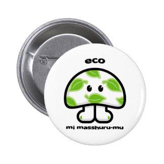 eco pinback button