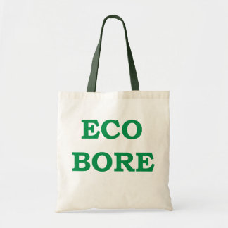 Eco-bore canvas shopping bag