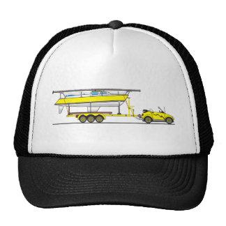 Eco Car Sail Boat Cap