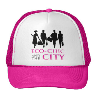 Eco - Chic and the City Mesh Hat