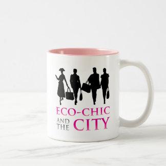 Eco - Chic and the City Coffee Mugs