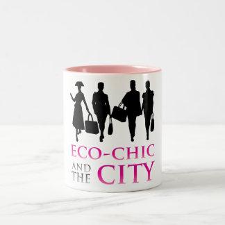 Eco - Chic and the City Coffee Mug