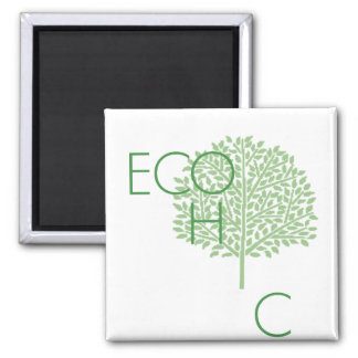 eco chic square magnet