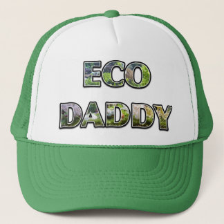ECO DAD Ecotopia Design Kelly Green Trucker Hat