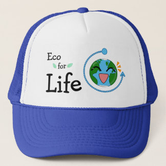 Eco for LIfe- Trucker Hat (Multiple Colors)