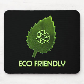 Eco Friendly Black Mouse Pad
