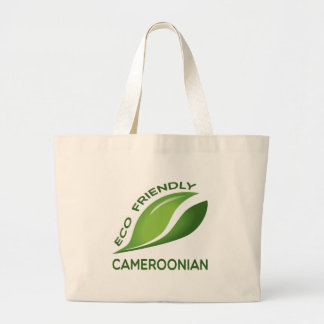Eco Friendly Cameroonian. Jumbo Tote Bag