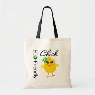 Eco-Friendly Chick Budget Tote Bag