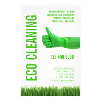 Eco Friendly Cleaning Services flyer